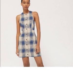 NWT Urban Outfitters Plaid Dress, Small